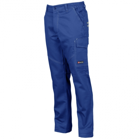 Pantalone Worker rojal plave