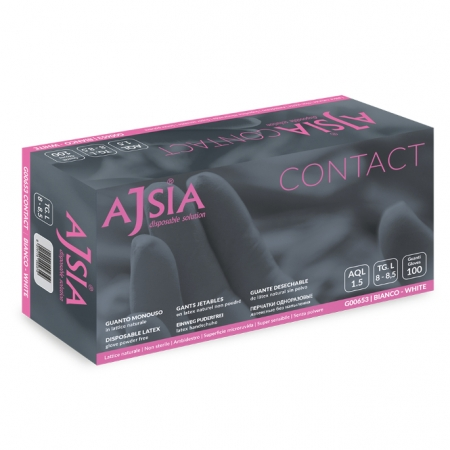 Rukavice Ajsia Contact latex