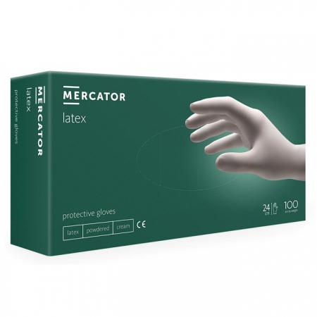 Rukavice Mercator Latex 1/100 kom
