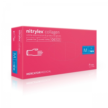 Rukavice Nitrylex Collagen nitril
